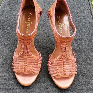 Cole Haan Leather Nike Air Heel